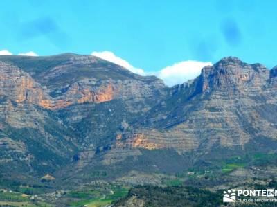 Montfalcó,Mont-rebei-Noguera Ribagorzana-Semana Santa; agencias de viajes singles madrid